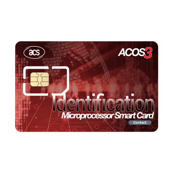 ACOS3 Microprocessor Card (Contact)