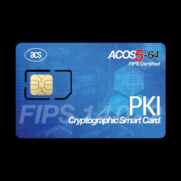 ACS ACOS5 64 Contact Card