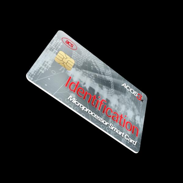 ACOS3X eXpress Microprocessor Card (Contact)