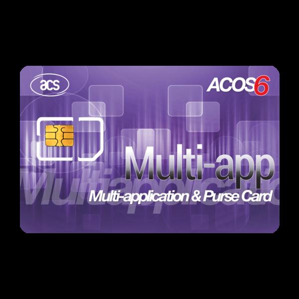 ACOS6 Multi-application & Purse Card (Contact)