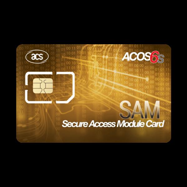 ACOS6-SAM Secure Access Module Card Contact